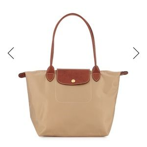 USED Longchamp Tote in Beige